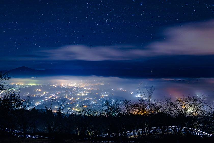 美の山公園雲海