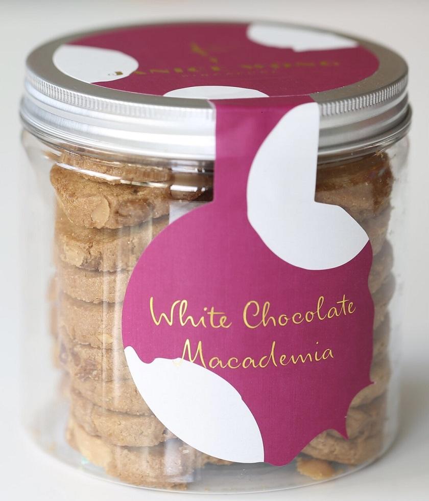 ホワイトチョコレート・マカダミアクッキー