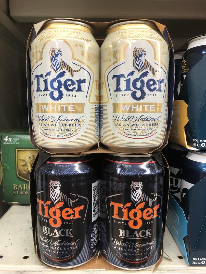 タイガーブラックアンドホワイト