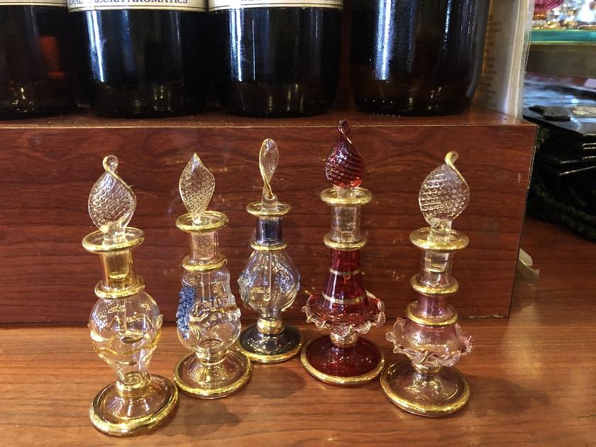 ジャマル カズラ 手作り香水瓶