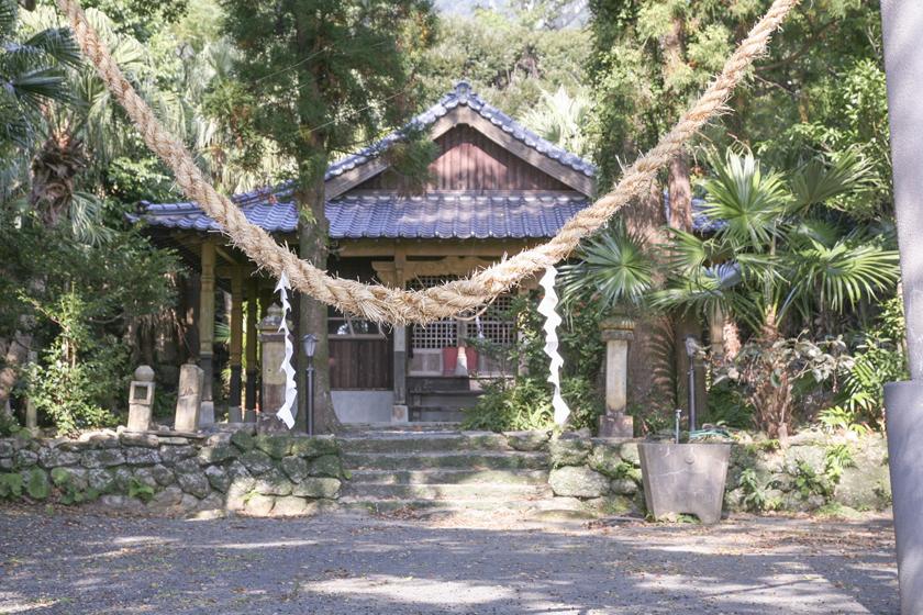 益救(やく)神社