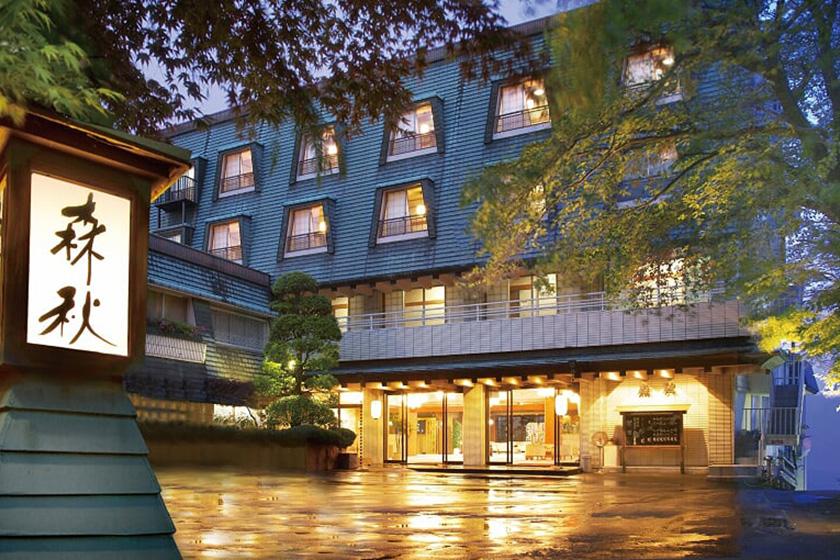 雨情の湯 森秋旅館