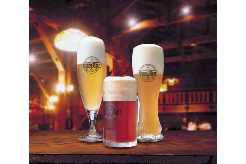 小樽倉庫No.1 ビール3種