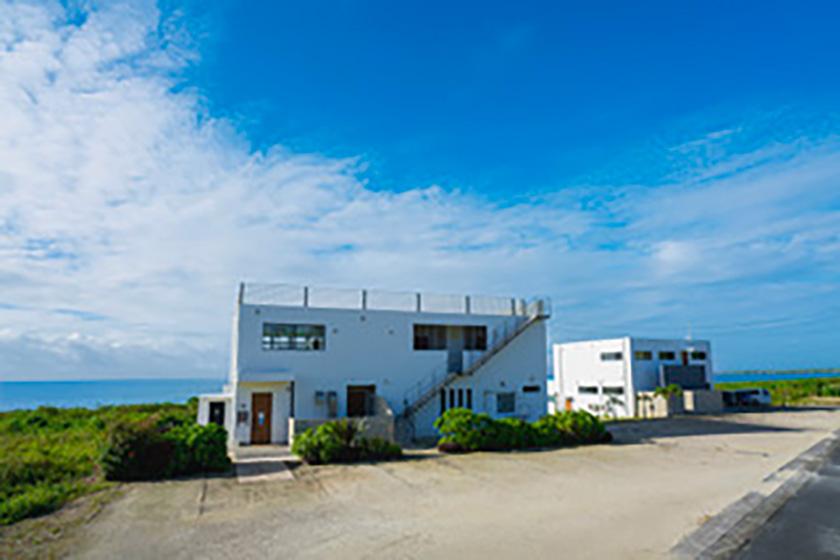 soraniwa hotel and café外観