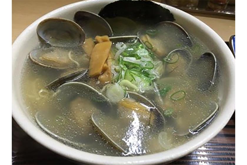 らーめん工房魚壱 アサリラーメン醤油あっさり味