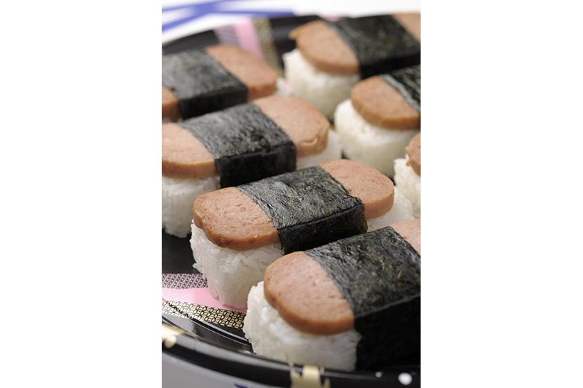 スパムむすび【米料理】